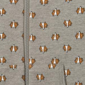 Pyjama-Jumpsuit aus bedruckter Sweatware, 2-12 Jahre La Redoute Collections