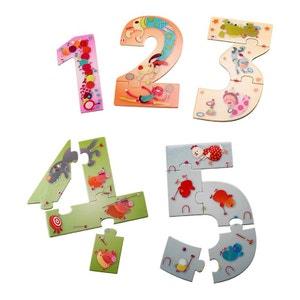 Puzzle Recto/Verso 15 pièces : 12345 Puzzle ! LILLIPUTIENS