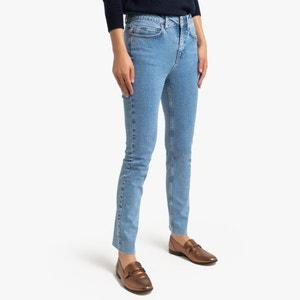 Slim jeans met hoge taille
