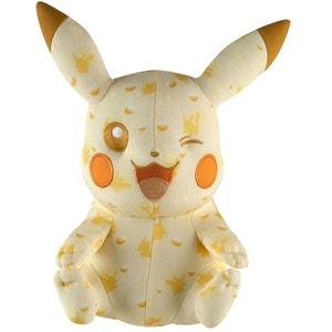 Coffret Pokemon exclusif 20 ans : Peluche Pikachu TOMY