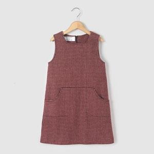 Tweedowa sukienka bez rękawów 3-12 lat abcd'R