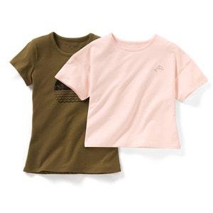 Camiseta de manga corta (lote de 2) 10-16 años R édition