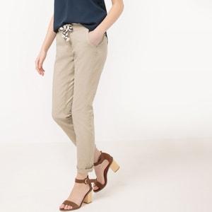 Pantalón chino con cinturón estilo cuerda TOM TAILOR