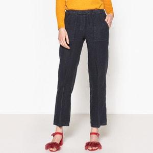 Pantalon lin PARSON HARTFORD