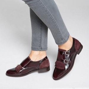 Ботинки-дерби кожаные с пряжками La Redoute Collections