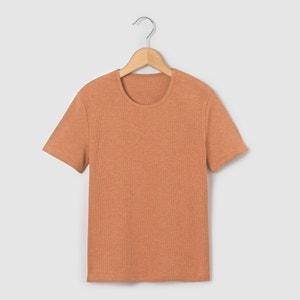 T-shirt prążkowany 10-16 lat La Redoute Collections