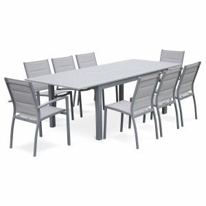 Salon de jardin aluminium extensible | La Redoute