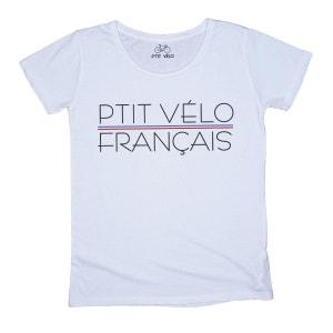 T-shirt Femme P'tit Français P TIT VELO