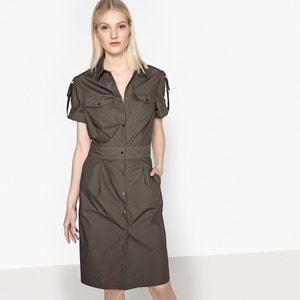 Robe forme chemise, boutonnée devant La Redoute Collections