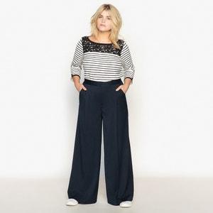 Pantalon large CASTALUNA