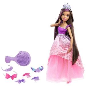 Barbie Grande Princesse Brune - MATDRJ31DPK21 BARBIE