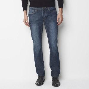 Straight-Cut Jeans, Length .34. R essentiel