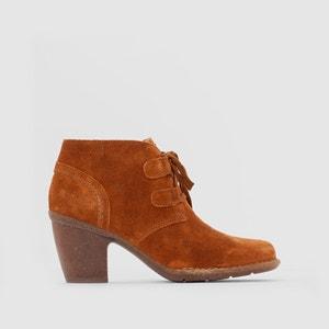 Boots cuir Carleta Lyon CLARKS