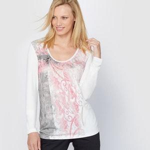 Bedrukt T-shirt ANNE WEYBURN