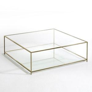 Mesa baja cuadrada de vidrio templado Sybil AM.PM.