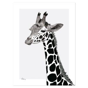 Poster girafe LILIPINSO