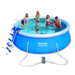 Kit piscine autoportante ronde - 457 x 122cm BESTWAY
