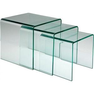 Tables d appoint Clear Club Gigognes set de 3 Kare Design KARE DESIGN