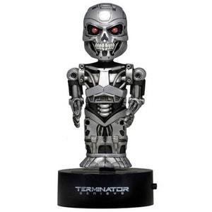 Terminator - Figurine Genisys Body Knocker Bobble Endoskeleton 15 cm NECA