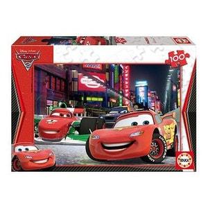 Puzzle 100 pièces - Cars 2 : Flash McQueen à Tokyo EDUCA
