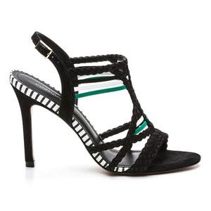 Sandales talons aiguilles, cuir, Kielle COSMOPARIS