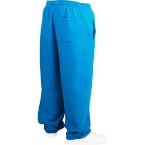Bas de jogging URBAN CLASSICS Kids Turquoise Large molletonné URBAN CLASSICS