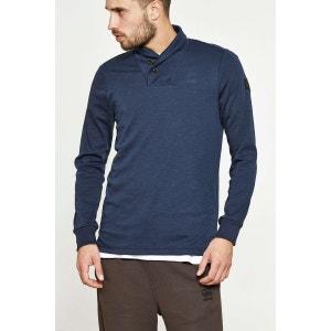 Tee Shirt G Star Poult Colar Bleu Indigo Homme G STAR