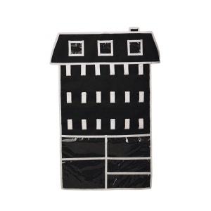 RANGE BIJOUX ORGANISATEUR A SUSPENDRE - Place Vendôme - Noir/Blanc INCIDENCE