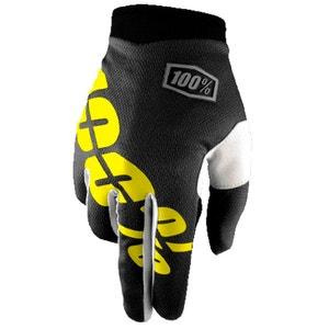iTrack - Gants - jaune/noir 100%