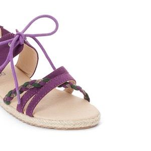 Sandales semelle corde La Redoute Collections