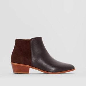 Boots cuir talon western R studio