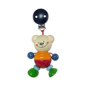HESS SPIELZEUG Le jouet à suspendre en bois Ours Henry jouet en bois HESS-SPIELZEUG