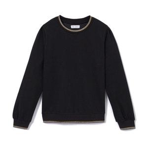Sweater met fronsjes 10-16 jr La Redoute Collections