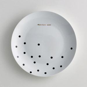 Assiette plate porcelaine, Kubler (lot de 4) La Redoute Interieurs