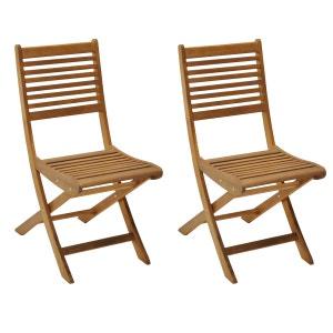 Salon de jardin table chaises la redoute - Fauteuil de jardin la redoute ...