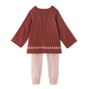 Ensemble blouse + legging 0 mnd-3 jr La Redoute Collections