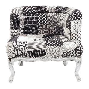 Fauteuil Patchwork La Redoute - Fauteuil patchwork noir et blanc