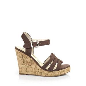 Sandalen met sleehak 313208 BUFFALO