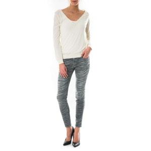 Jeans The Ankle Skinny Current Elliott Gris CURRENT ELLIOTT