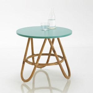 Chevet ou table d'appoint en rotin, Kok La Redoute Interieurs