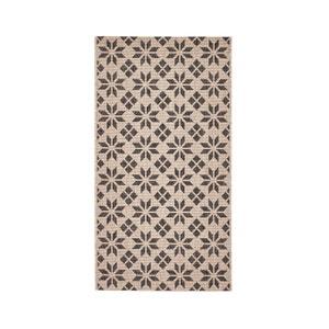 Geweven tapijt met cement ruiten, Iswik