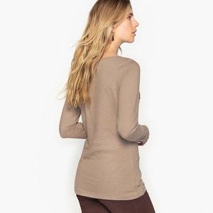 Stretch Cotton T-Shirt ANNE WEYBURN