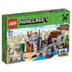 Lego 21121 Minecraft : L'avant-poste dans le désert LEGO