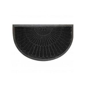 tapis rond noir la redoute. Black Bedroom Furniture Sets. Home Design Ideas