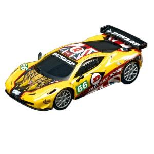 Voiture pour circuit Carrera Go : Ferrari 458 GT2 n°66 CARRERA