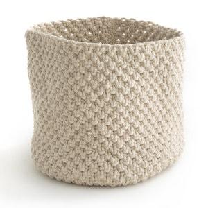 Cesto de almacenaje de punto tricot LOPUPÉ La Redoute Interieurs
