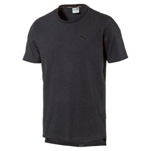 Koszulka z okrągłym wycięciem szyi z nadrukiem na plecach PUMA