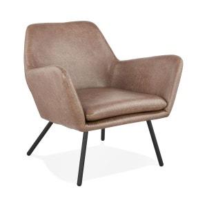 Fauteuil En Cuir Design La Redoute - Fauteuil cuir designer