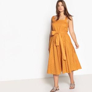 Tie Waist Midi Dress CASTALUNA