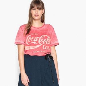 Tee shirt  col rond, manches courtes COCA COLA